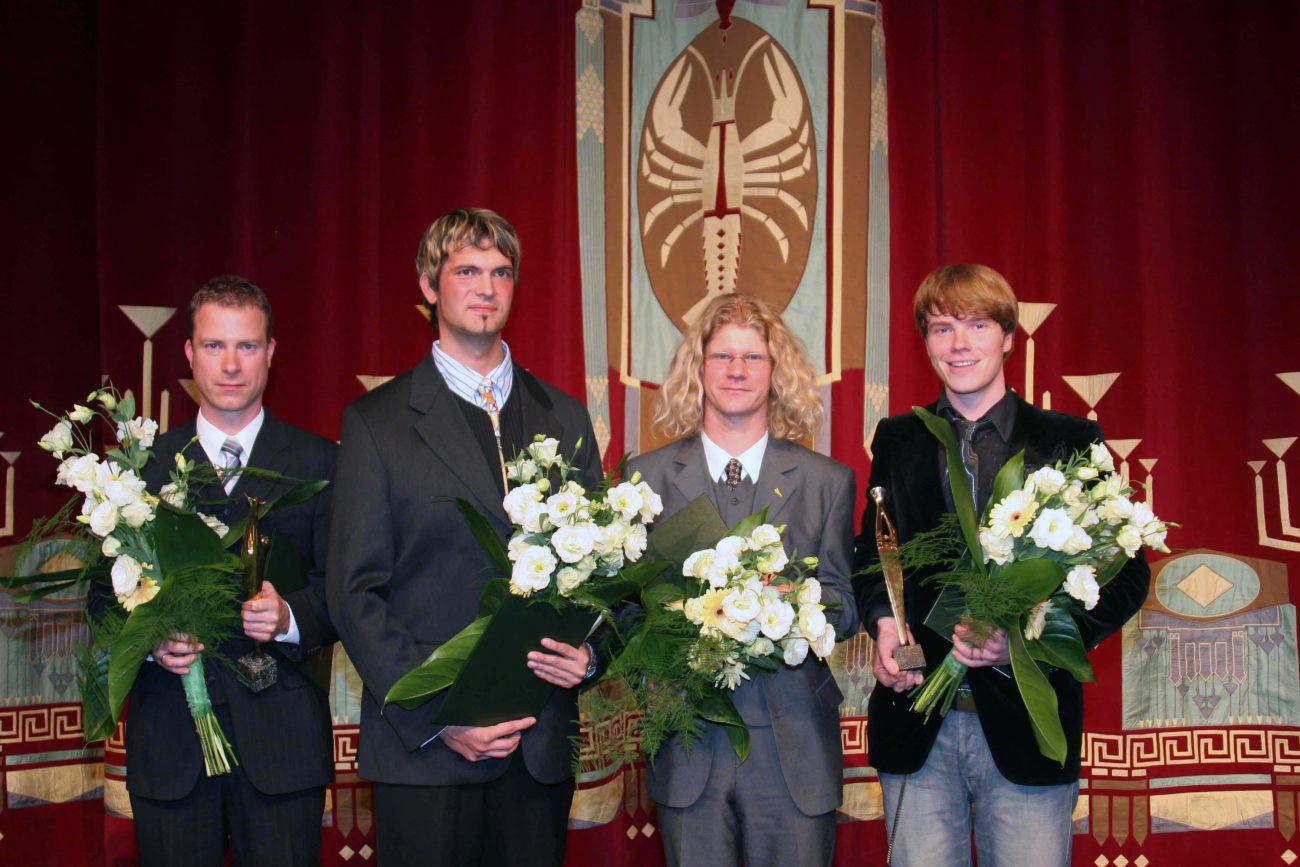 Dr Steffen Hill, Sebastian Lehrack, Wolfram Korr, Paul Grill