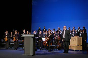 Staatstheater CottbusFestakt zur Verleihung des Max-Grünebaum-Preises  2007Kammerchor der Singakademie und Bach Consort Cottbus unter der Leitung von Christian Möbius