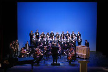 Staatstheater Cottbus  Festakt zur Verleihung des  Max-Grünebaum-Preises  2007 Kammerchor der Singakademie und Bach Consort Cottbus  unter der Leitung von Christian Möbius