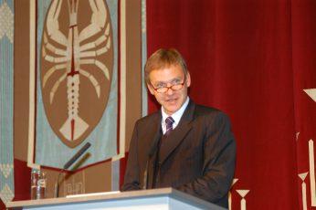 Staatstheater CottbusFestakt zur Verleihung des Max-Grünebaum-Preises  2007Martin Schüler Intendant (Laudator)