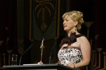 Staatstheater CottbusFestakt zur Verleihung des Max-Grünebaum-Preises  2007Anna Sommerfeld (Sopran) Max Grünebaum-Preisträgerin