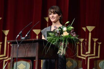 Theaterplastikerin Claudia Düsing (Förderpreisträgerin 2016).