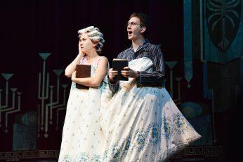 Ariadne Pabst und Johannes Kienast Schauspieler am Staatstheater Cottbus (beide Preisträger 2015).