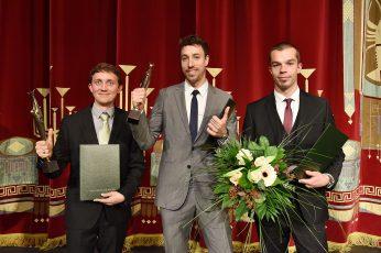 Dr.-Ing. Bert Kaiser, Dr.-Ing. Andreas Wurm und Philipp Richter (v.l.n.r.)
