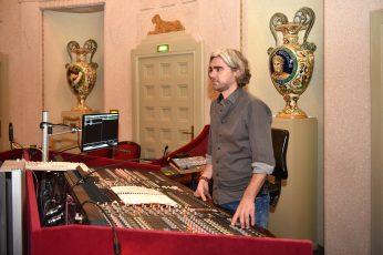 Sebastian Thoss, Tontechniker am Staatstheater Cottbus © Marlies Kross